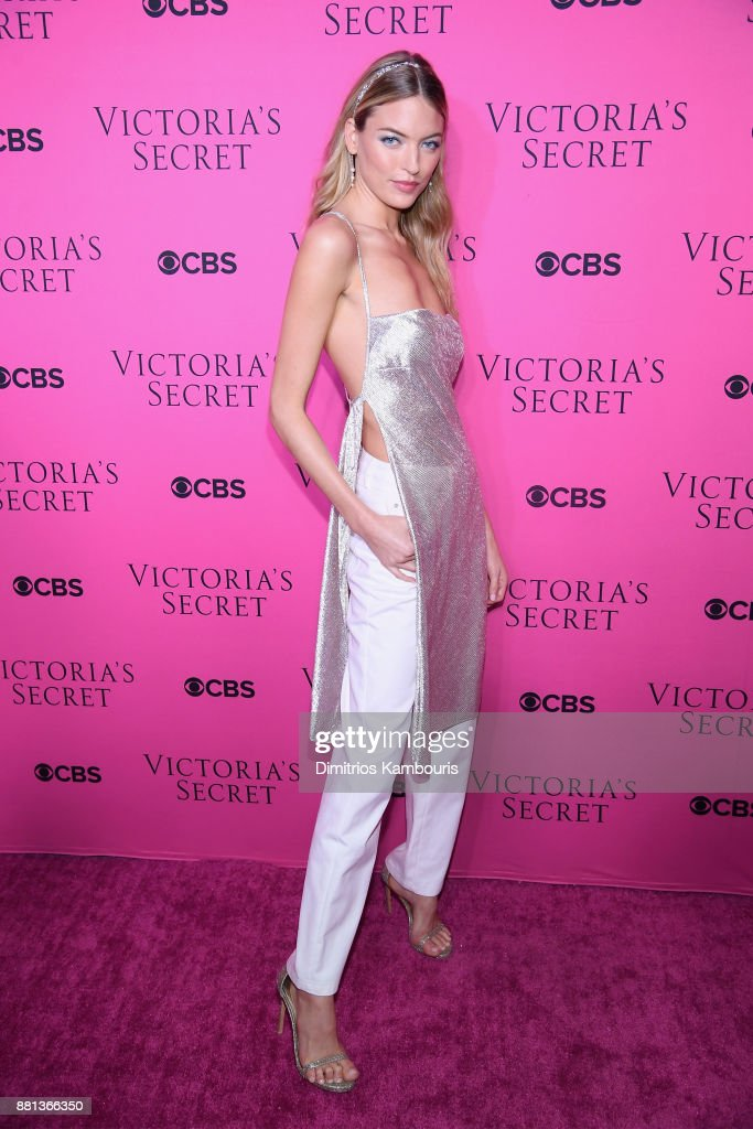 Victoria's Secret Angel Martha Hunt attends as Victoria's Secret Angels gather for an intimate viewing party of the 2017 Victoria's Secret Fashion Show at Spring Studios on November 28, 2017 in New York City.