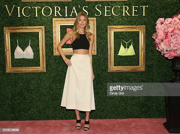 Victoria's Secret Angel Martha Hunt hosts global media live stream to reveal Bralette Collection launch multicity tour at Victoria's Secret Herald...