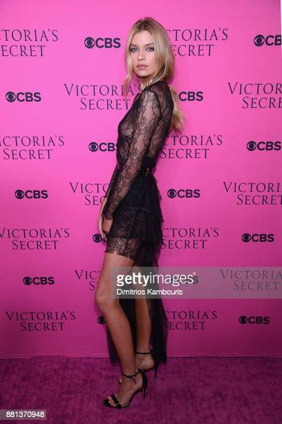 Victoria's Secret Angel Stella Maxwell attends as Victoria's Secret Angels gather for an intimate viewing party of the 2017 Victoria's Secret Fashion...