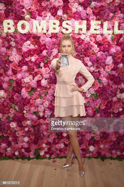 Victoria's Secret Angel Stella Maxwell Celebrates The Bombshell Fragrance at Victoria's Secret Fifth Ave on May 10 2017 in New York City