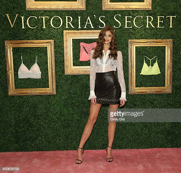 Victoria's Secret Angel Taylor Hill hosts global media live stream to reveal Bralette Collection & launch multi-city tour at Victoria's Secret Herald...