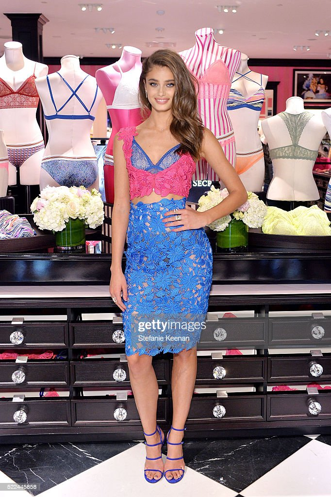 6cdd5fde20 Victoria s Secret Angel Taylor Hill Launches The All New Bralette Collection  On Multi-City Tour