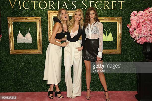Victoria's Secret Angels Martha Hunt, Elsa Hosk and Taylor Hill host global media live stream to reveal Bralette Collection & launch multi-city tour...