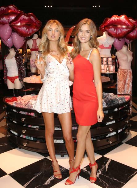 Victoria S Secret Angels Josephine Skriver And Romee Strijd Make