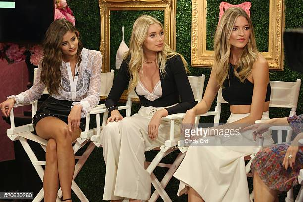 Victoria's Secret Angels Taylor Hill, Elsa Hosk and Martha Hunt host global media live stream to reveal Bralette Collection & launch multi-city tour...