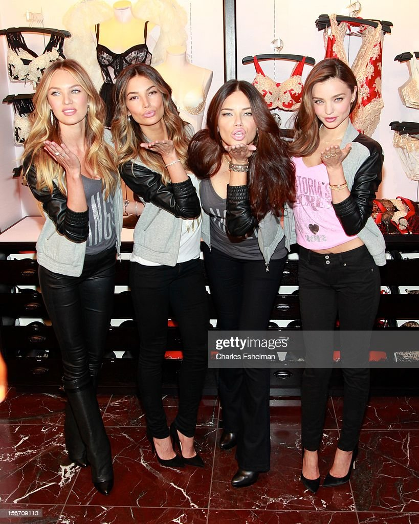 a35f9e63b78 Victoria s Secret Angels Celebrate Holiday 2012   News Photo