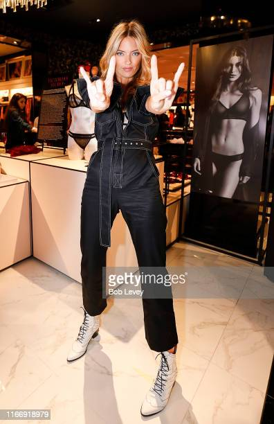 Victoria's Secret debuts new Fall Collection with Angel Martha Hunt on August 08 2019 in Houston Texas