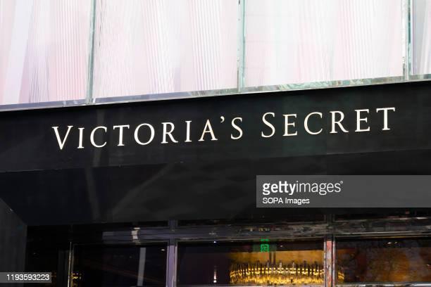 Victoria's Secret logo seen in Shanghai.