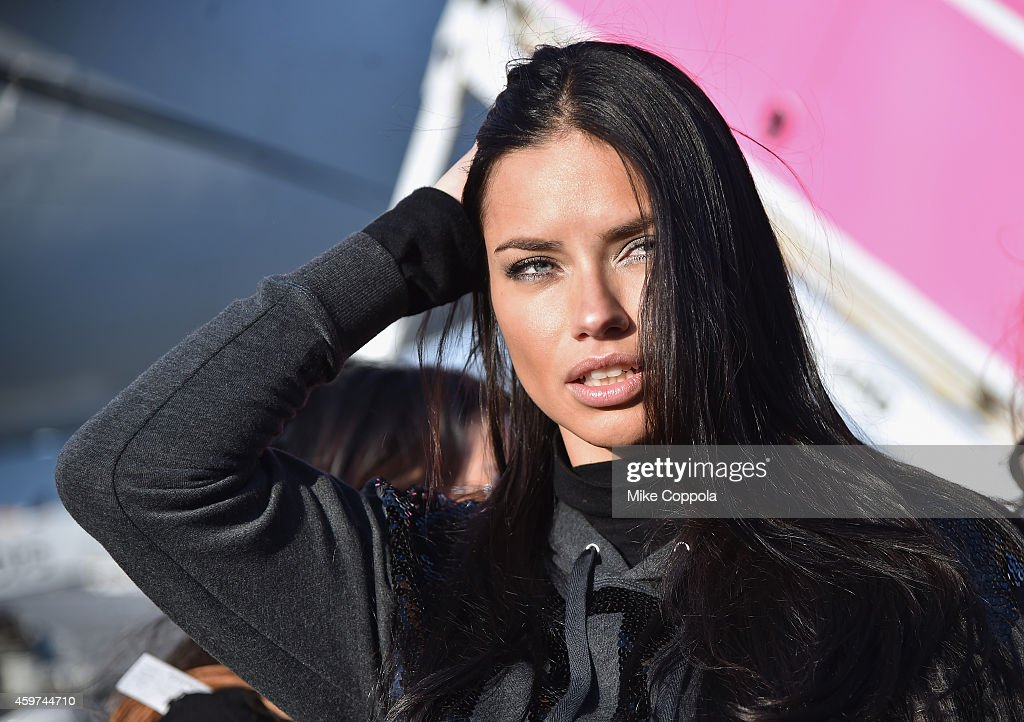 353550b459c90 Victoria's Secret Models Depart For London For 2014 Victoria's Secret  Fashion Show : News Photo