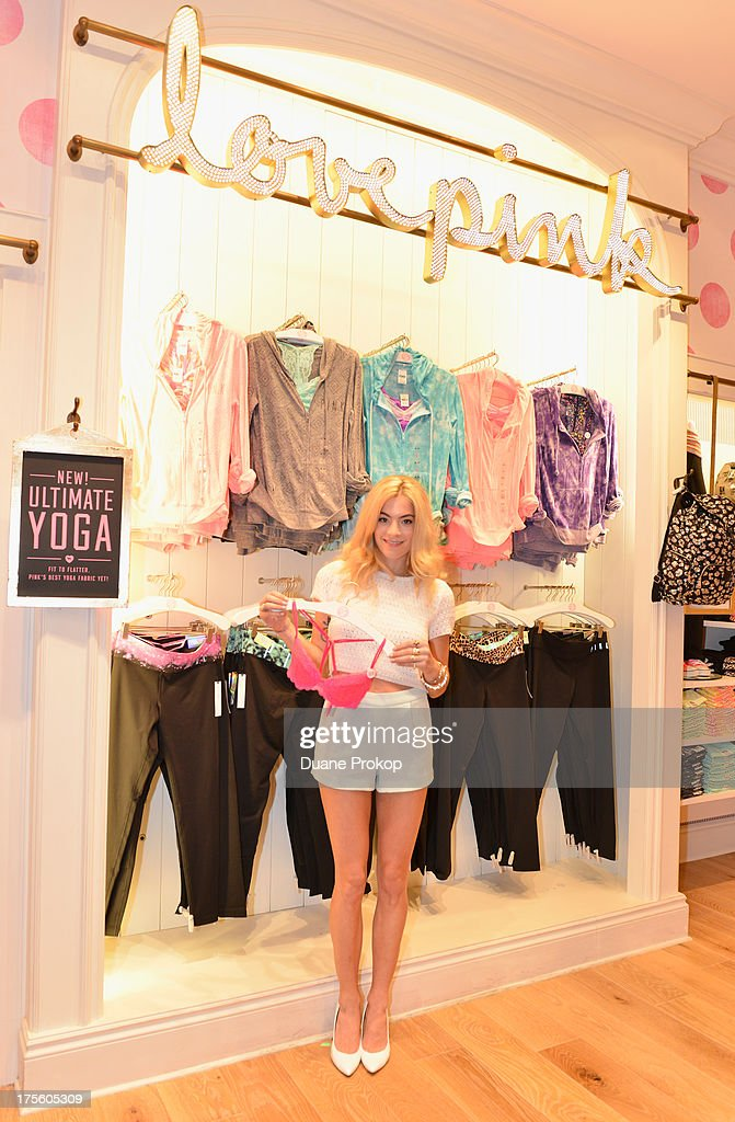 Victoria's Secret PINK hosts shopping event with DJ Chelsea Leylan at Victoria's Secret PINK Store at Franklin Park on August 4, 2013 in Toledo, Ohio.
