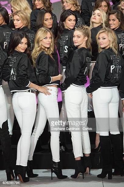 'Victoria's Secret' supermodel Stella Maxwell Joan Smalls Kendall Jenner Lily Donaldson Izabel Goulart Lily Aldridge Martha Hunt Gigi Hadid and...