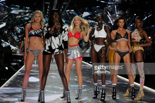 Victoria's Secret's legendary Angels take to the runway for the 2018 Victoria's Secret Holiday Special, showcasing an all-star lineup of musical...
