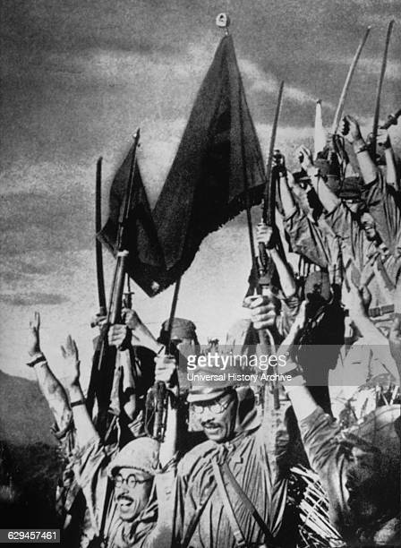 Victorious Japanese Troops after Invasion of Manchuria circa 1931