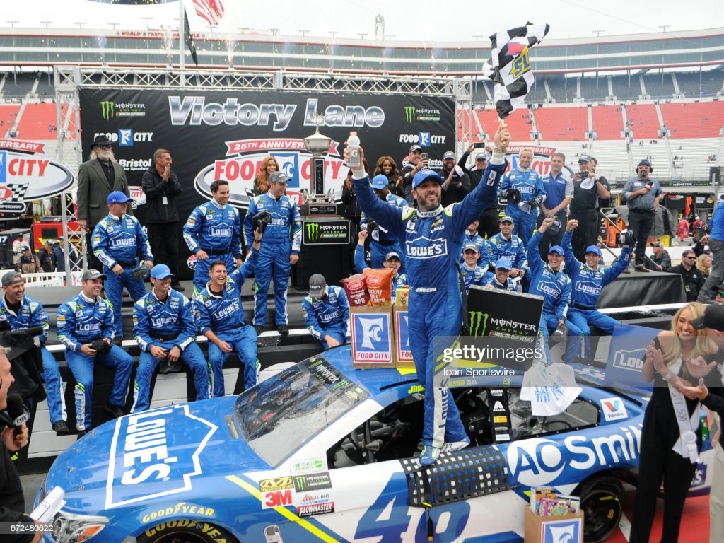 AUTO: APR 24 NASCAR Monster Energy Cup Series - Food City 500 ...