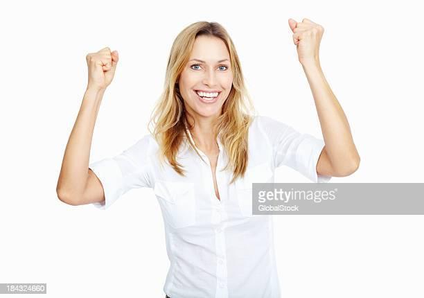 Victorieux femme