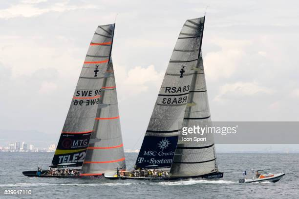 Victory Challenge / Team Shosholoza - - Round Robin 1 - Louis Vuitton Cup - 2007 -