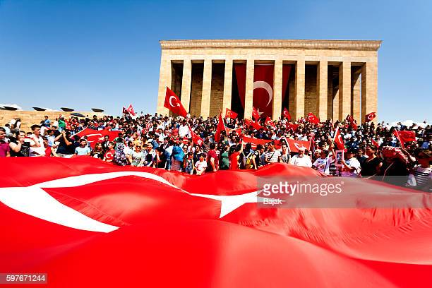 victory day - ataturk stock photos and pictures