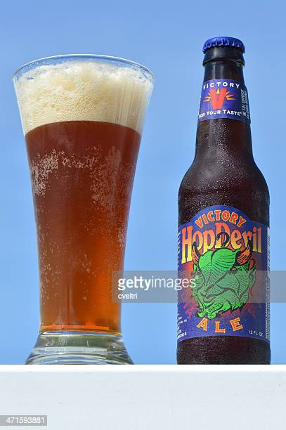 victory hopdevil india pale ale ipa - help:ipa stock pictures, royalty-free photos & images