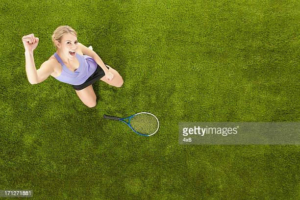 Victory in tennis