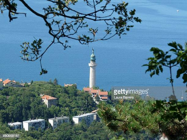 Victory lighthouse in Trieste