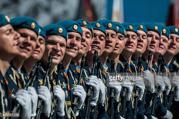 Victory parade takes place as part of celebrations marking the 70th anniversary of the victory over Nazi Germany and the end of World War II on May 9...