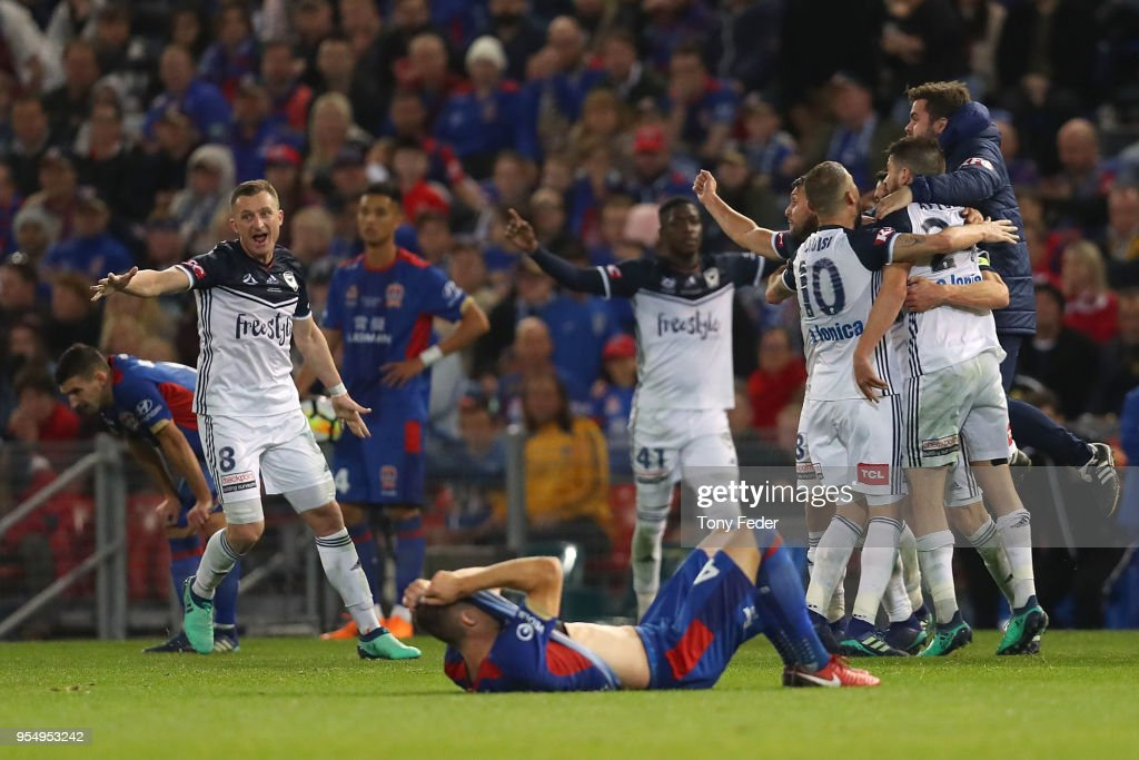 A-League Grand Final - Newcastle v Melbourne : News Photo