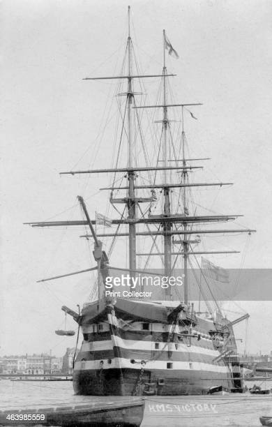 HMS 'Victory' Portsmouth Hampshire 20th century HMS 'Victory' was a first rate ship of the line of the Royal Navy built between 1759 and 1765 She was...