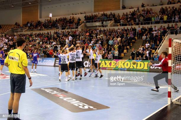 Vid KAVTICNIK / But egalisation sur coup frand a la derniere seconde Kolding Kif / Montpellier 1/8 de Finale aller de Ligue des Champions Danemark