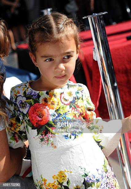 Vida Alves McConnaughey at Matthew McConaughey's Star ceremony On The Hollywood Walk Of Fame on November 17, 2014 in Hollywood, California.