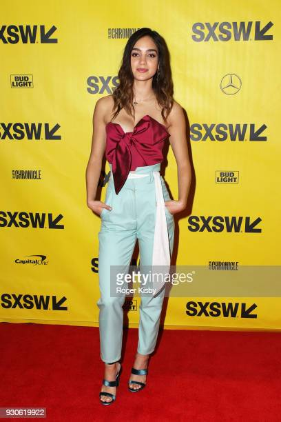 Vida cast member Melissa Barrera attends the premiere of the Starz Original Series Vida at the Vimeo Theater on March 11 2018 in Austin Texas