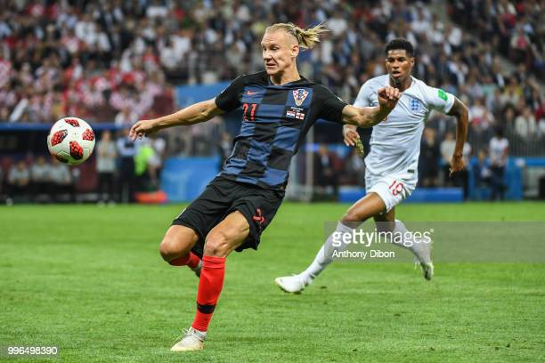 Vida Domagoj of Croatia during the Semi Final FIFA World Cup match between Croatia and England at Luzhniki Stadium on July 11 2018 in Moscow Russia