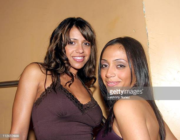 Vida Guerra and Guest during Jessy Terrero's Birthday Party at Eugene's in New York City, New York, United States.