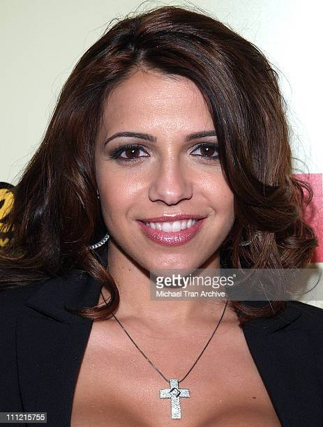 Vida Guerra during 2005 Spike TV Video Game Awards Party Hosted by FHM and SpikeTV Arrivals at Basque in Hollywood California United States