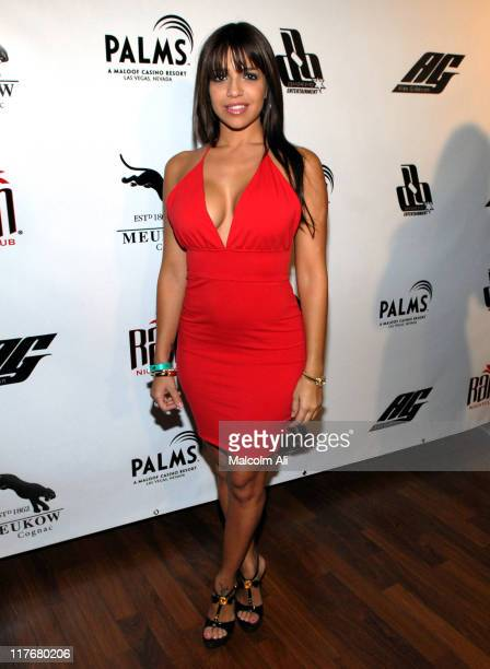Vida Guerra during 2007 NBA All-Star in Las Vegas - Shaquille O'Neal Hosts Official NBA All-Star Party at The Palms Hotel and Casino in Las Vegas,...