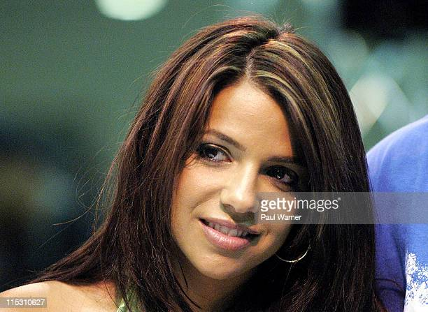 Vida Guerra during Dub Magazine's 6th Annual 2006 Custom Auto Show and Concert at Cobo Hall in Detroit, Michigan, United States.