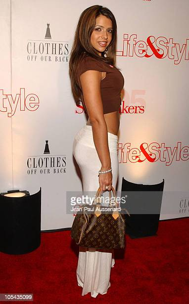 Vida Guerra during Life & Style Magazine Presents Stylemakers 2005 - Arrivals at Montmartre lounge in Hollywood, California, United States.