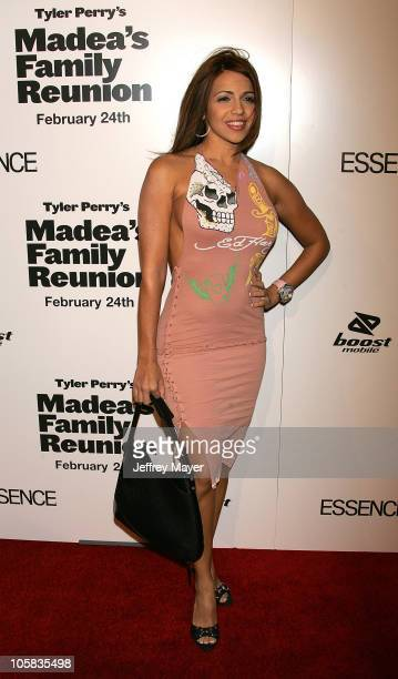 """Vida Guerra during """"Madea's Family Reunion"""" Los Angeles Premiere - Arrivals at ArcLight Cinemas in Hollywood, California, United States."""