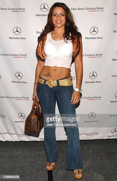 Vida Guerra during Mercedes-Benz Spring 2006 L.A. Fashion Week at Smashbox Studios - Day 2 - Arrivals at Smashbox Studios in Culver City, California,...
