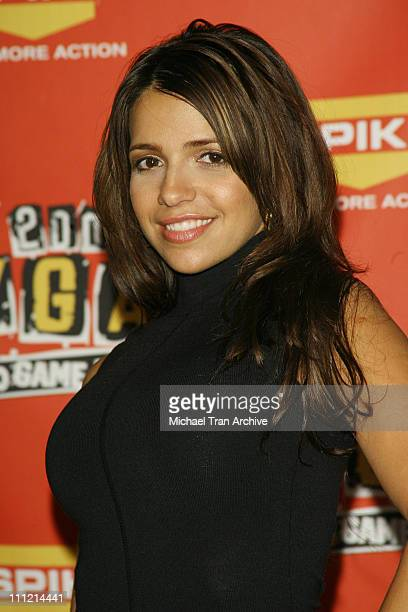 Vida Guerra during Spike TV's 2006 Video Game Awards - Press Room at Galen Center in Los Angeles, CA, United States.