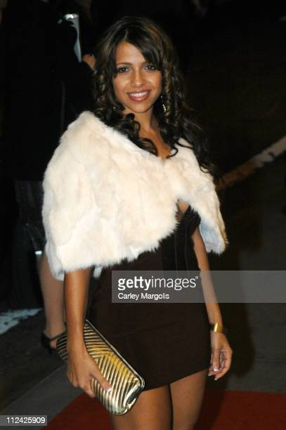 Vida Guerra during Usher's 26th Birthday Party at Rainbow Room in New York City, New York, United States.