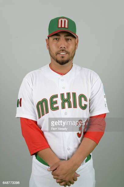 Vidal Nuno of Team Mexico poses for a headshot for Pool D of the 2017 World Baseball Classic on Monday March 6 2017 at the Peoria Sports Complex in...
