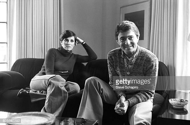 Vidal Sassoon and Beverly Adams