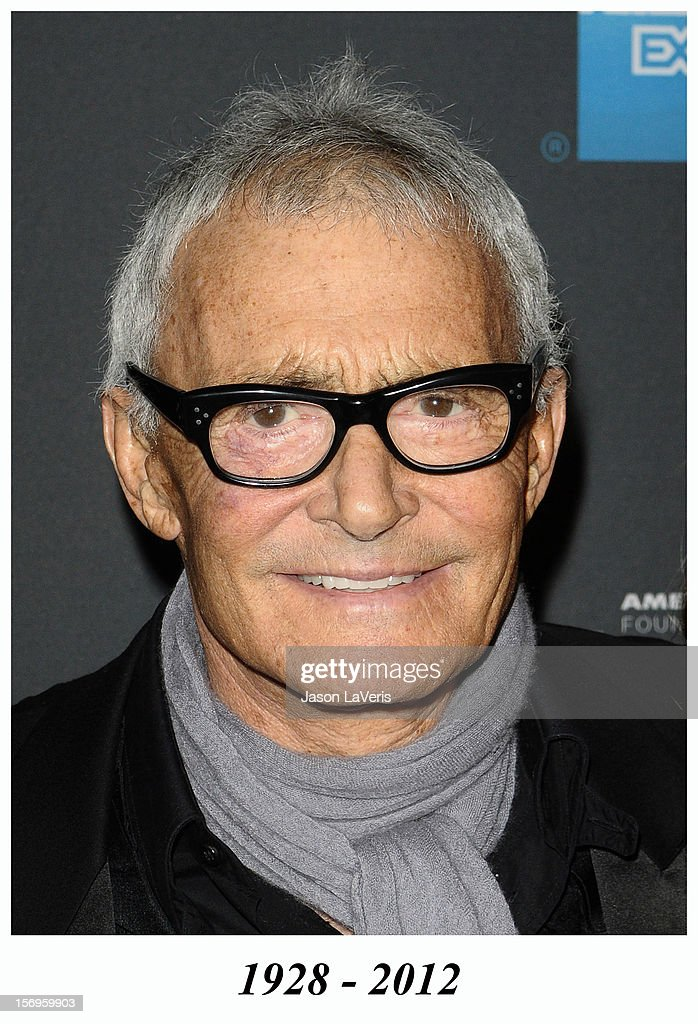 Vidal Sassoon attends the Tribeca Film launch event and 2010 Tribeca Film Festival celebration at Station Hollywood at W Hollywood Hotel on March 23, 2010 in Hollywood, California. Vidal Sassoon died in 2012.