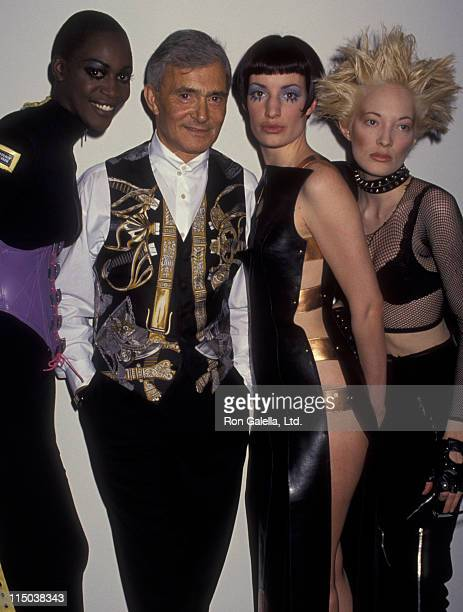 Vidal Sassoon attends Vidal Sassoon 50th Anniversary Exhibition on February 22 1993 at the Fashion Institute of Technology in New York City