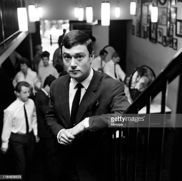 Vidal Sassoon Salon Bond Street London Tuesday 13th August 1963 pictured Vidal Sassoon British American hairstylist businessman and philanthropist