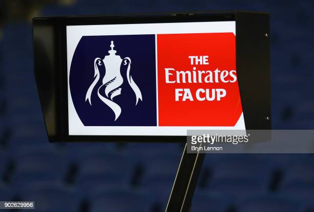 Video Assistant Referee equipment is seen prior to The Emirates FA Cup Third Round match between Brighton Hove Albion and Crystal Palace at Amex...