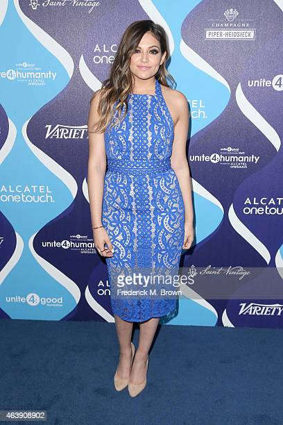 Video blogger Bethany Mota attends the 2nd Annual unite4humanity Presented By ALCATEL ONETOUCH at the Beverly Hilton Hotel on February 19 2015 in Los...
