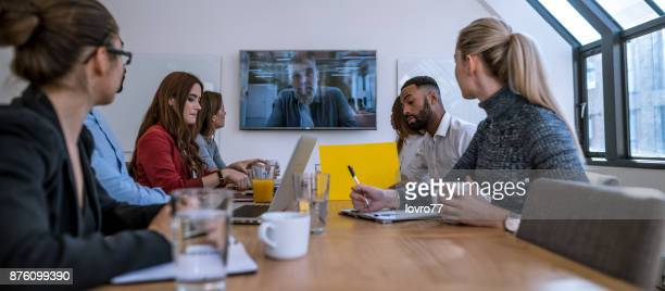 Video call conference