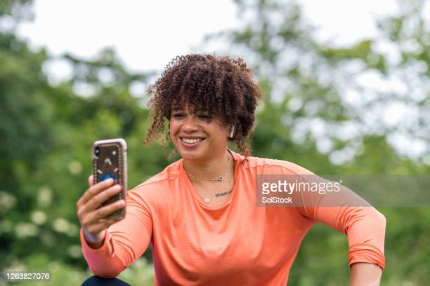 video calling her clients - sunderland stock pictures, royalty-free photos & images