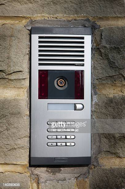 video camera entry system - intercom stock pictures, royalty-free photos & images